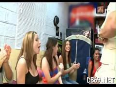 Embed pornography category orgy (299 sec). Lewd girls celebrate their 21st birthday with the dancing bear crew..