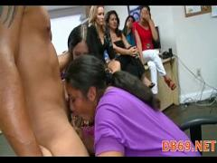 Free tube video category orgy (333 sec). hot young burnette sucks down every.