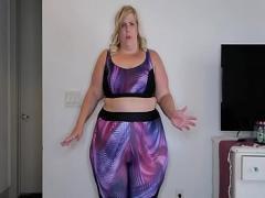 Cool film category big_ass (679 sec). hot ssbbw dancing in bikini.
