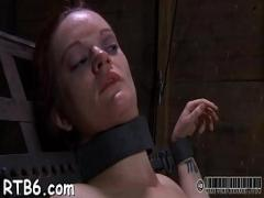 18+ amorous video category blowjob (300 sec). Clamped up babe is receiving lusty facial anguish.