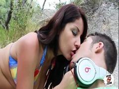 Sex hub video category exotic (603 sec). Latina Pechugona Follando En El Monte.