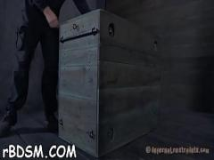 Download hub video category blowjob (322 sec). Bound up cutie waits with anticipation of her next torture.