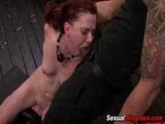 Stars videotape recording category bdsm (480 sec). Slaves pussy fingered.