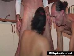 Nice amorous video category anal (334 sec). Amateur orgy with 2 horny Italian cocksuckers.