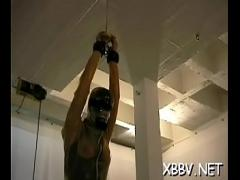 Free video link category bdsm (307 sec). Chunky female tied up and forced to endure bdsm xxx.