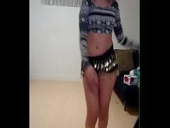 XXX amorous video category teen (237 sec). Dancing striptease amateur.